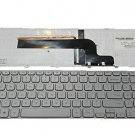 New US Layout silver color Laptop Keyboard for Dell Inspiron 15-7000 Series 7537 KK7X9 V143625AS1