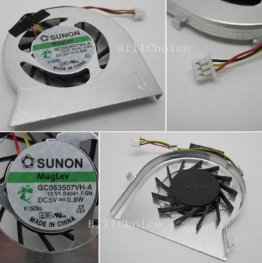 CPU Fan For Acer Aspire One D250 P531H KAVA0 KAV60 Notebook (3-PIN) GC053507VH-A 13.V1.B4041.F.GN