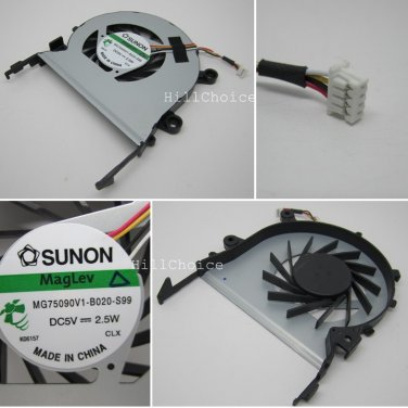 New CPU Cooling Fan For Acer Aspire 5553 5553G Laptop (4-PIN) MG75090V1-B020-S99