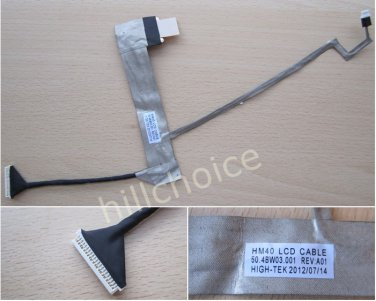 New LCD Screen Cable For Acer Aspire 4332 4732 D525 D725 Laptop 50.4BW03.001