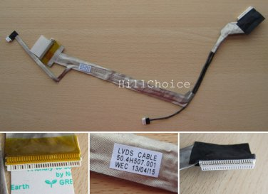 Brand New HP Compaq Presario CQ50 CQ60 15.6'' Laptop LCD Screen Cable 50.4H507.001