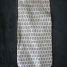 Geoffrey Beene Men's Taupe,Gray & Black Diamond Print Silk Tie