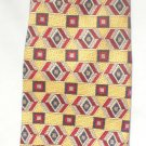 Givenchy Yellow, Blue, Red Print Silk Men's Business Tie