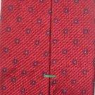 Tommy Hilfiger Red  Print Silk Men's Business Tie