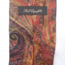 Karl Lagerfeld Brown & Black Print Silk Men's Business Tie