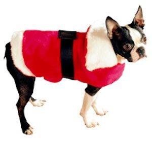 Doggiduds Red & White Christmas Sweater S NEW