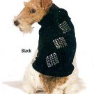 Fashion Pet Black Diamond Dazzle Sequin Dog Sweater S NWT