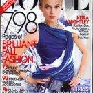 Vogue Magazine September 2008 Keira Knightley