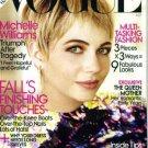Vogue Magazine October 2009 Michelle Williams NEW
