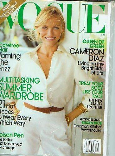 Vogue Magazine June 2009 Cameron Diaz NEW