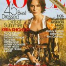 Vogue Magazine June 2007 Keira Knightley
