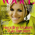 Vogue Magazine January 2006 Sienna Miller