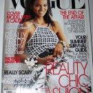 Vogue Magazine May 2005 Liya Kebede