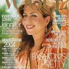Vogue Magazine January 2004 Jennifer Anniston