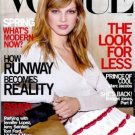 Vogue Magazine February 2000 Angela Lindvall NEW