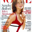 Vogue Magazine January 2003 Sandra Bullock