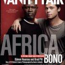 Vanity Fair Magazine July 2007 Brad Pitt & Hounsou Africa Issue