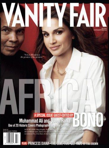 Vanity Fair Magazine July 2007 Ali/Queen Rania Africa Issue