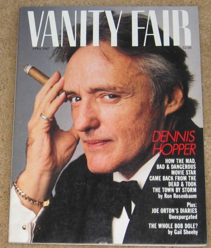 Vanity Fair Magazine April 1987 Dennis Hopper