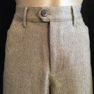 Abercrombie & Fitch Gray Wool Blend Herringbone Career Pants 2
