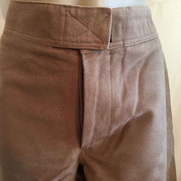 BCBG Max Azria Brown Cotton Casual Pants 32