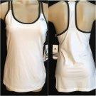 Adidas Black & White Athletic Top M NWT