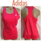 Adidas Pink Athletic Tank Top L