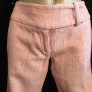 Arden B Pink Plaid Career Pants 1