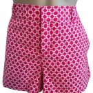 Banana Republic Pink Print Shorts 8