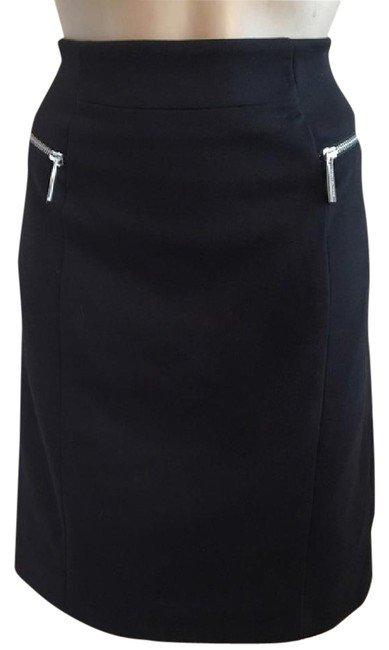 Michael Kors Black Zip Pocket Skirt 6