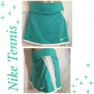 Nike Green & White Tennis Skirt Skort S