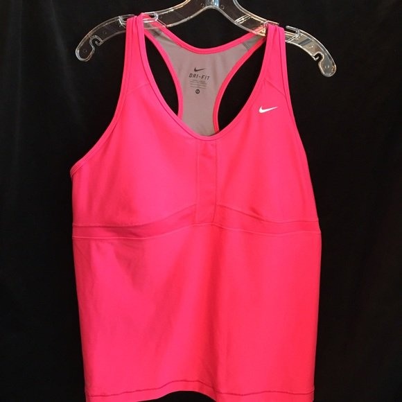 Nike Pink Racerback Athletic Top 1X NEW