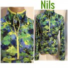 Nils Long Sleeve Floral Print Athletic Top L