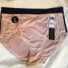 Delta Burke Set of 2 Blue & Tan  Bikini Panties 8 1X