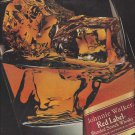 Magazine Paper Print Ad For 1993 Johnnie Walker Red: Richness of Red