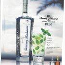 Magazine Paper Print Ad For 2007 Tommy Bahama Rum: Millionaire Mojito Scene