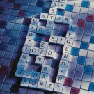 Magazine Paper Print Ad For 2000 Absolut Vodka Absolut Challenge: Scrabble Board