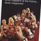 Magazine Paper Print Ad For The Palms Hotel Las Vegas: Lingerie Poker