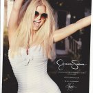 Magazine Paper Print Ad With Jessica Simpson In White For Jessica Simpson Clothing