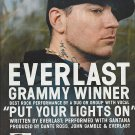 Magazine Paper Print Ad With Everlast For Whitey Ford Sings The Blues Album Promo