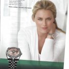 Magazine Paper Print Ad With Lindsey Vonn For 2011 Rolex Watches