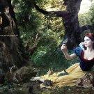 Magazine Paper Print Ad With Rachel Weisz For Disney Theme Parks