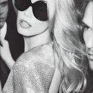 Magazine Paper Print Ad With Claudia Schiffer For Salvatore Ferragamo Sunglasses