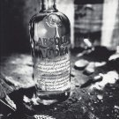 Magazine Paper Print Ad For 2001 Absolut Vodka Absolutely