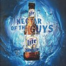 Magazine Paper Print Ad For 2002 Miller Lite Beer: Nectar of The Guys