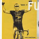 Magazine Paper Print Ad With Lance Armstrong For 2004 Subaro Baja Trucks