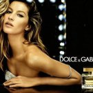 Magazine Paper Print Ad With Gisele Bundchen For 2009 Dolce & Gabbana The One #2