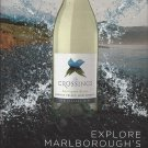 Magazine Paper Print Ad For The Crossings Sauvingnon Blan Wine