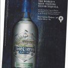 Magazine Paper Print Ad For 2007 Jose Cuervo Platino Silver Tequila
