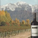 Magazine Paper Print Ad For 2010 Terrazas Reserva Malbec Wines: Feel The Heights